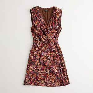 J. Crew Factory Dresses - J Crew   Floral Whitney Wrap Dress